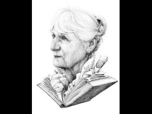 Portret met boek - Redmer Hoekstra - Kunst Extra