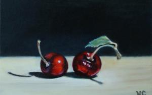 Twee kersen - Nick Cillessen - Kunst Extra