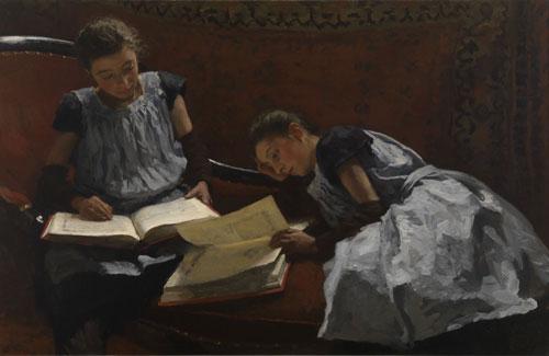 tentoonstelling van Courbet